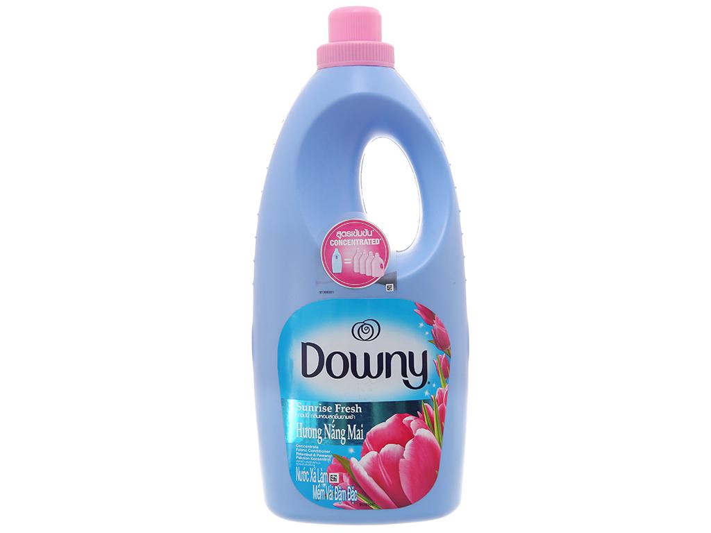 Nước xả vải Downy hương nắng mai chai 1.8 lít 2