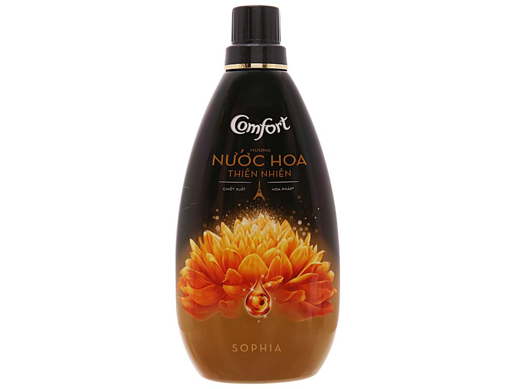 Nước xả vải Comfort nước hoa Sophia chai 800ml 2