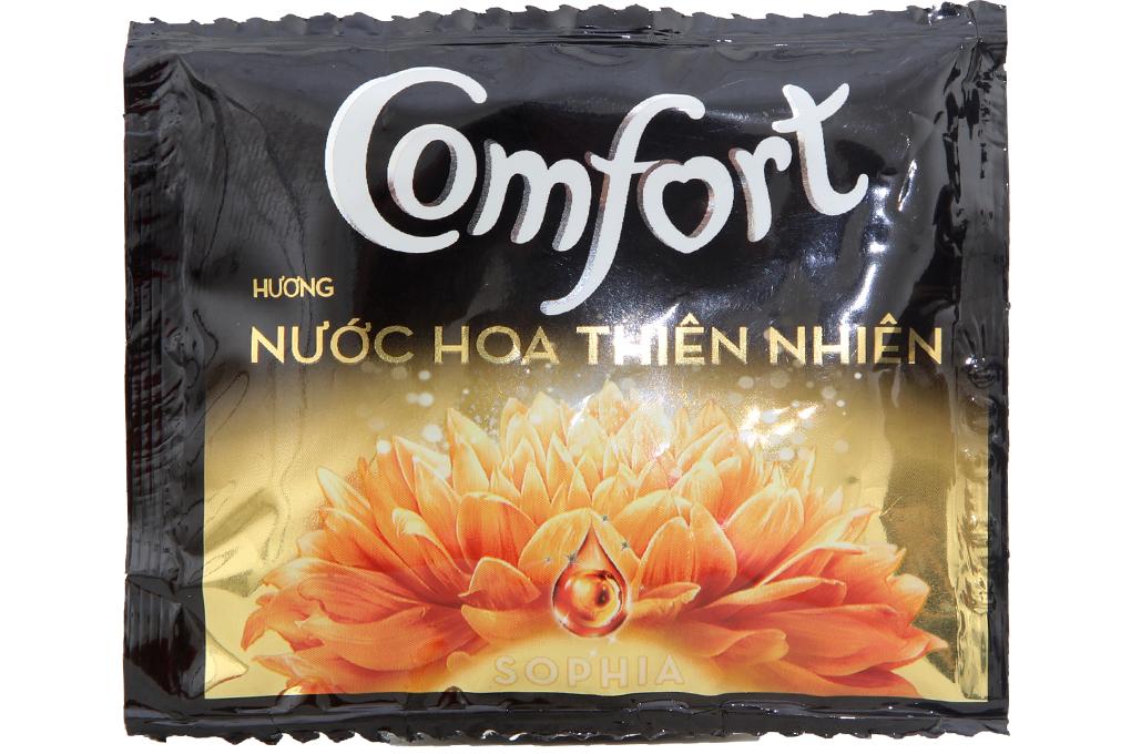 Nước xả Comfort hương nước hoa Sofia gói 21ml (dây 10 gói)