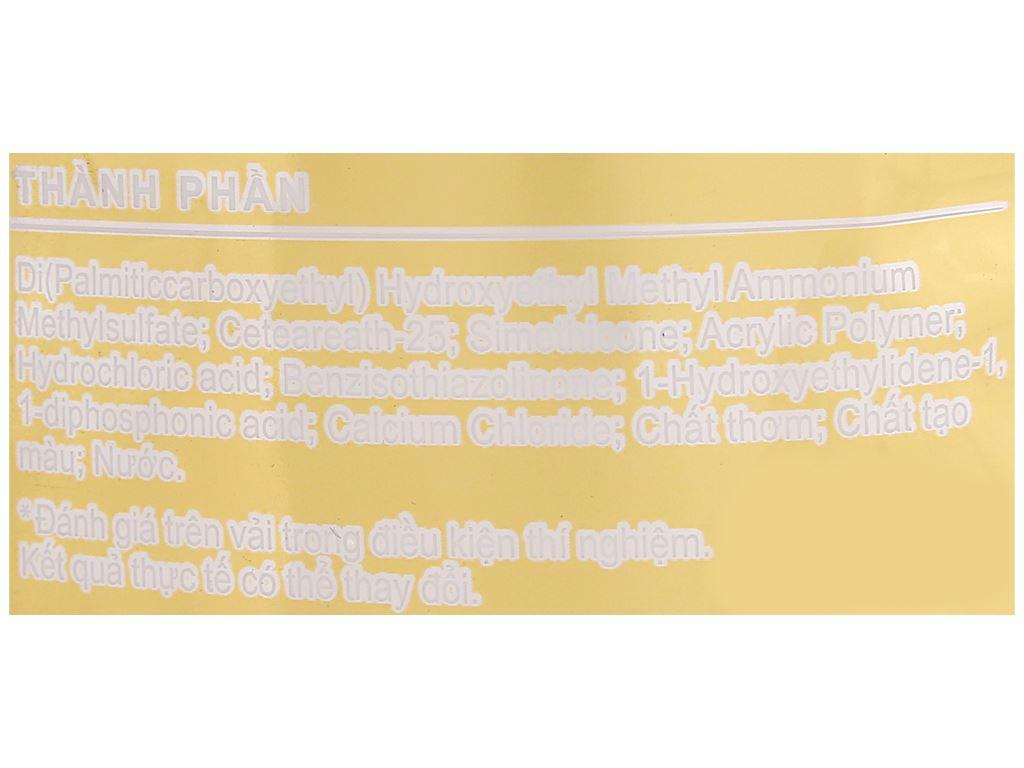 Nước xả vải Comfort hương nước hoa thiên nhiên sophia túi 1.5 lít 3