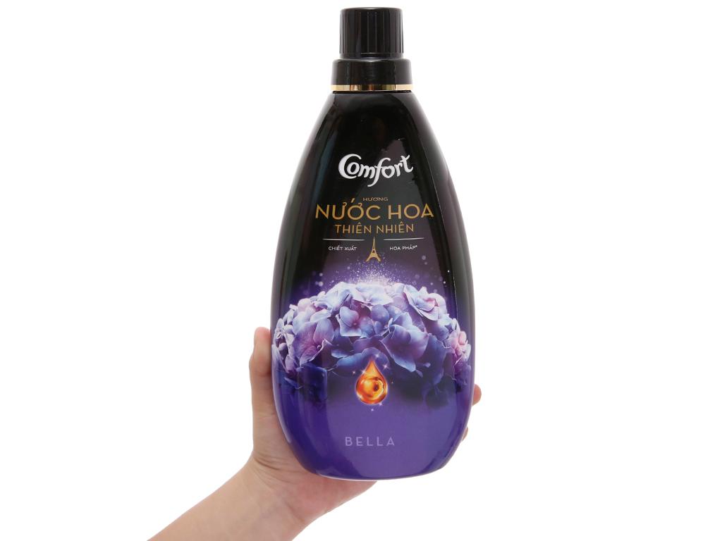 Nước xả vải Comfort hương nước hoa thiên nhiên bella chai 800ml 5
