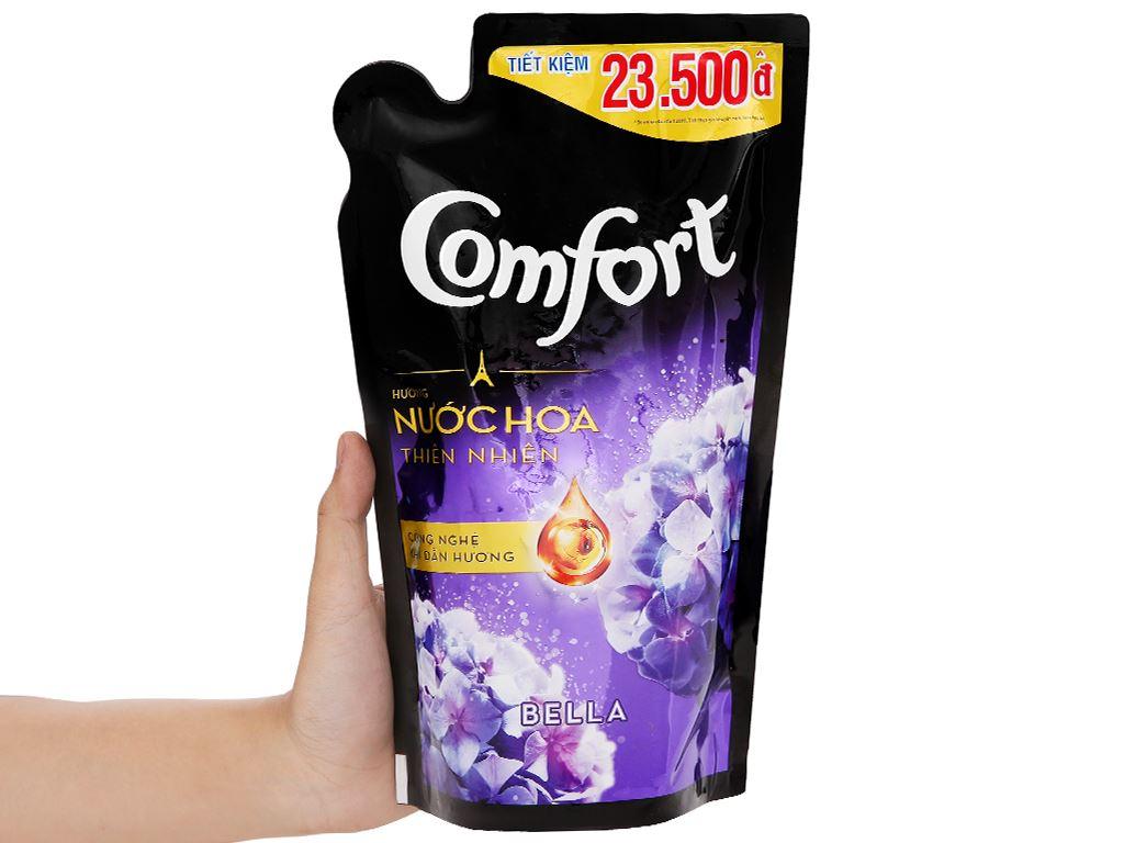 Nước xả vải Comfort hương nước hoa Bella túi 750ml 6