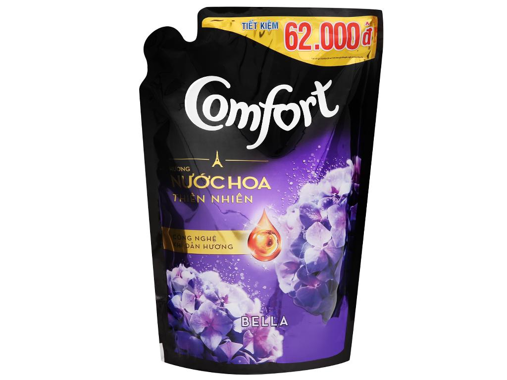 Nước xả vải Comfort hương nước hoa Bella túi 1.6 lít 2