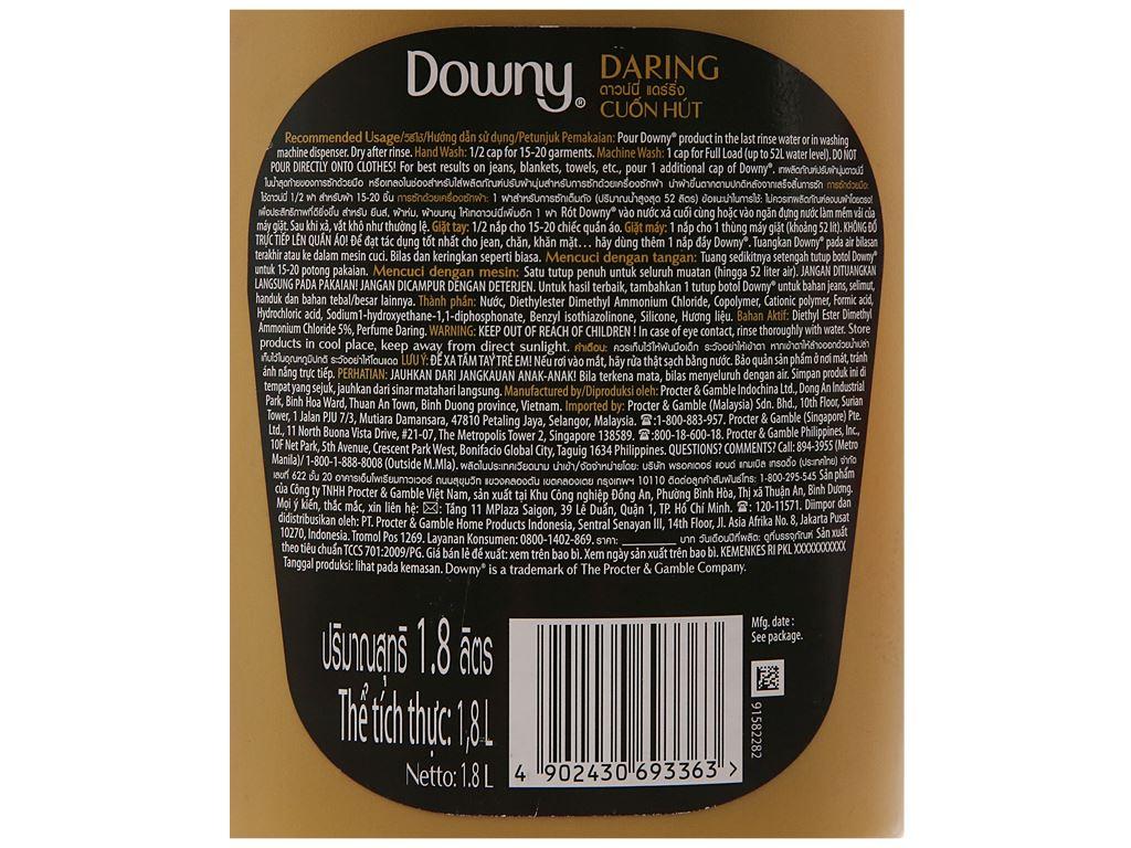Nước xả vải Downy Parfum Collection cuốn hút chai 1.8 lít 4