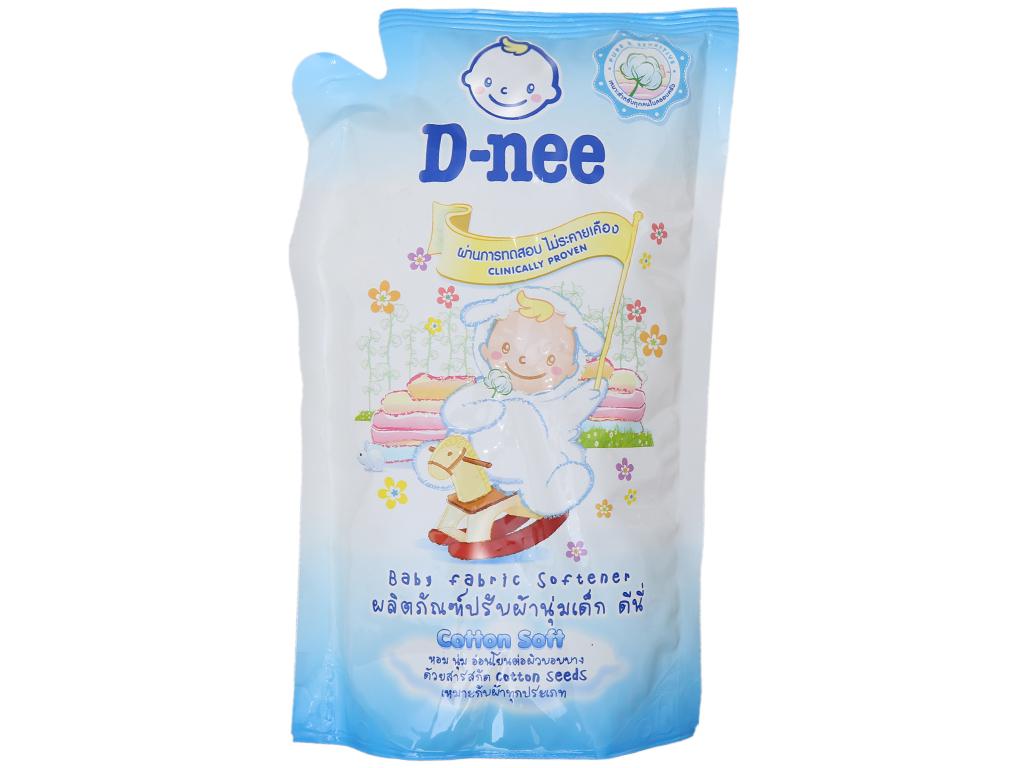 Nước xả vải cho bé D-nee Soft túi 600ml 2