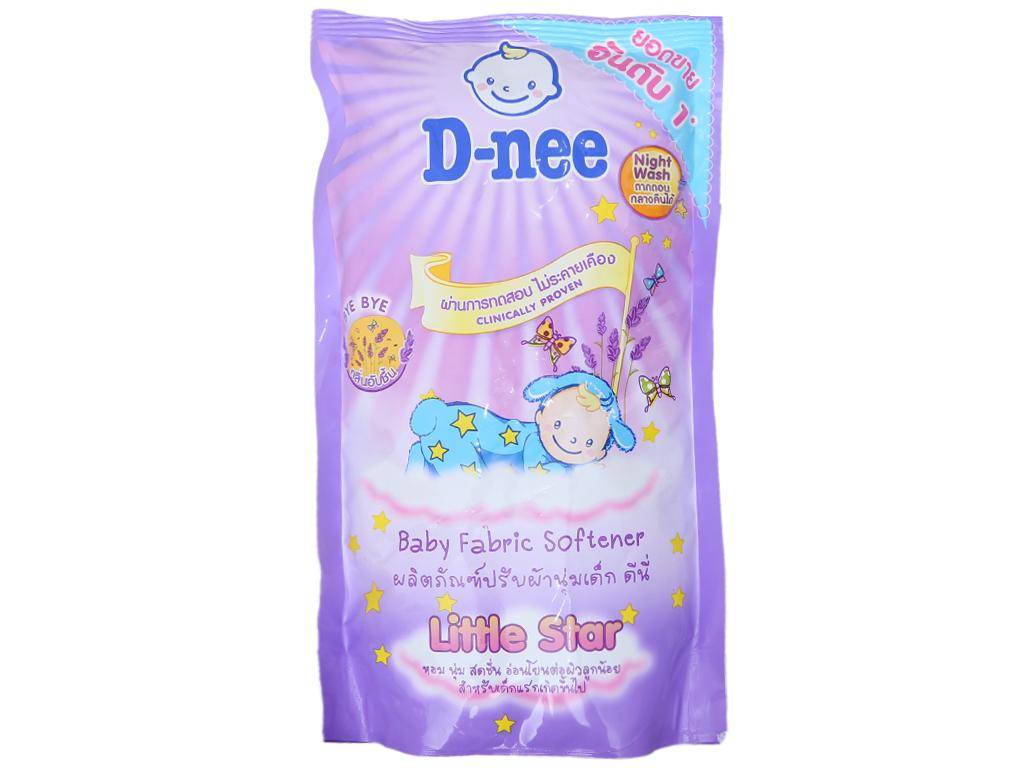 Nước xả vải cho bé D-nee hương Lavender làm mềm vải 600ml 2