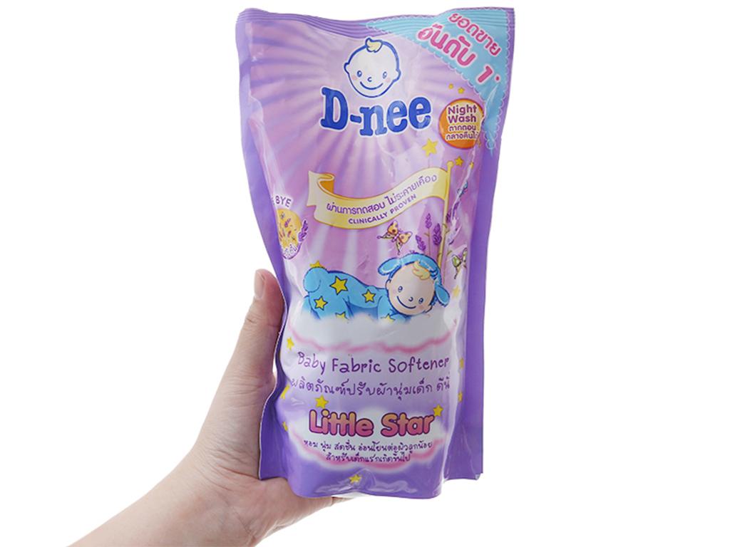 Nước xả vải cho bé D-nee hương Lavender làm mềm vải 600ml 4