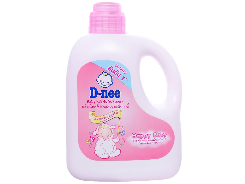 Nước xả vải cho bé D-nee hồng chai 1 lít 1