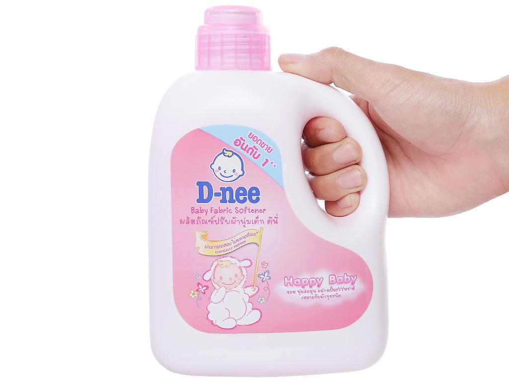 Nước xả vải cho bé D-nee hồng chai 1 lít 3