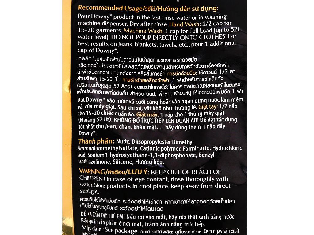 Nước xả vải Downy Premium Parfum cuốn hút túi 750ml 4