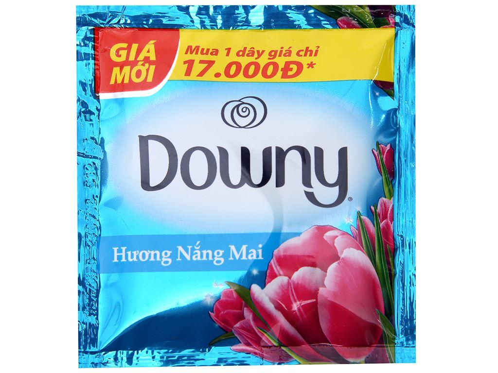 9 gói nước xả vải Downy hương nắng mai 20ml 2