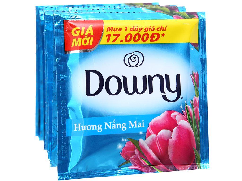 9 gói nước xả vải Downy hương nắng mai 20ml 4