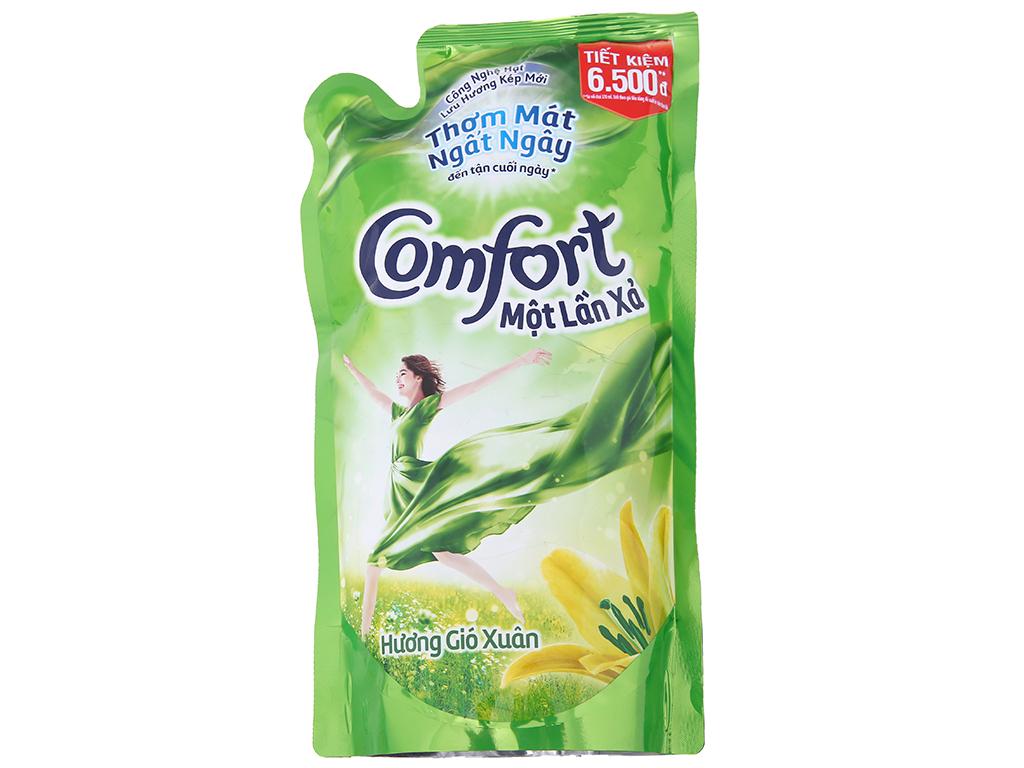 Comfort một lần xả hương gió xuân túi 800ml 2