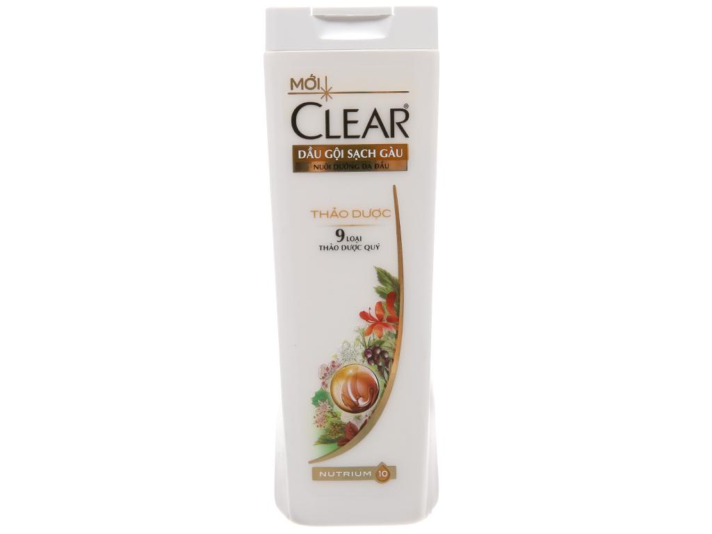 Dầu gội sạch gàu Clear thảo dược 180g 2