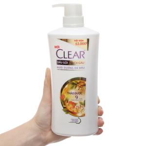 Dầu gội Clear sạch gàu thảo dược quý 650g