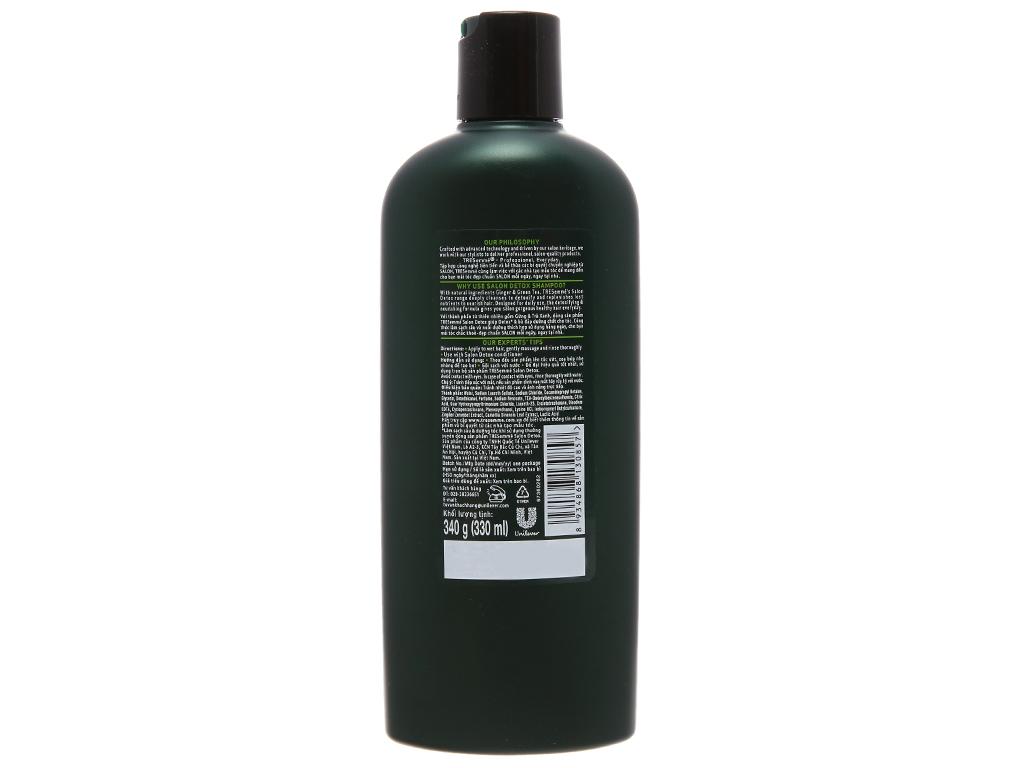 Dầu gội TRESemmé Salon Detox gừng và trà xanh 340g 3