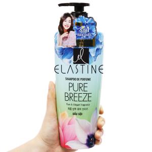 Dầu gội nước hoa Elastine Pure Breeze óng mượt chắc khoẻ 600ml