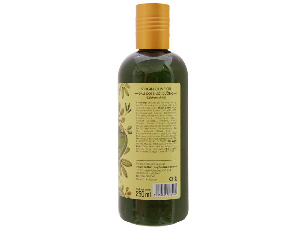 Dầu gội nuôi dưỡng Purité dầu Olive nguyên chất 250ml 3