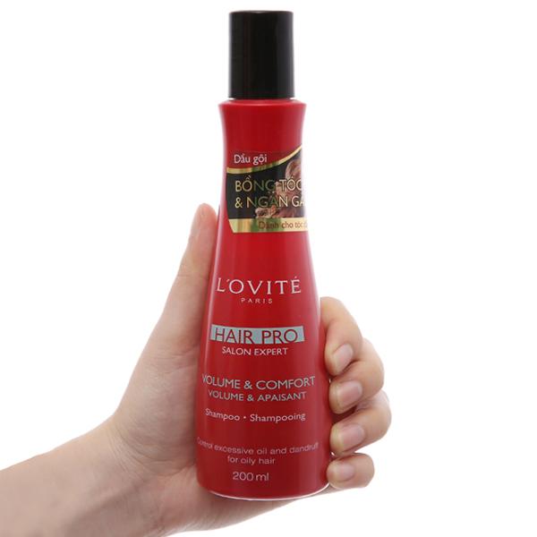 Dầu gội L'ovité Paris Pro bồng tóc & ngăn ngừa gàu 200ml