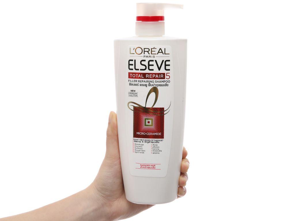 Dầu gội phục hồi hư tổn L'Oréal Elseve Total Repair 650ml 1