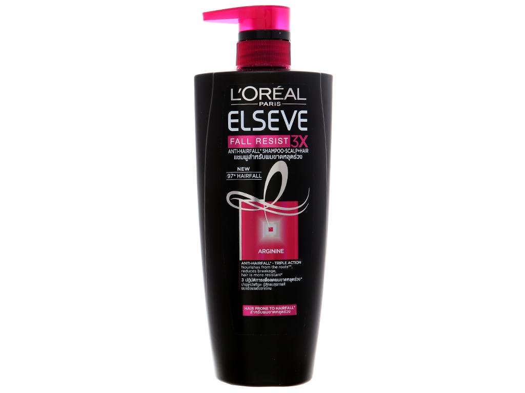 Dầu gội ngăn gãy rụng L'Oréal Elseve 650ml 2