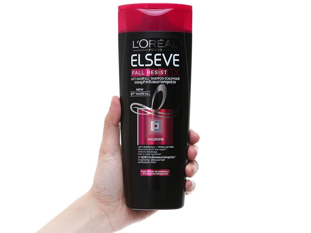 Dầu gội chăm sóc tóc gãy rụng L'Oreal Fall Repair 3X 330ml 3