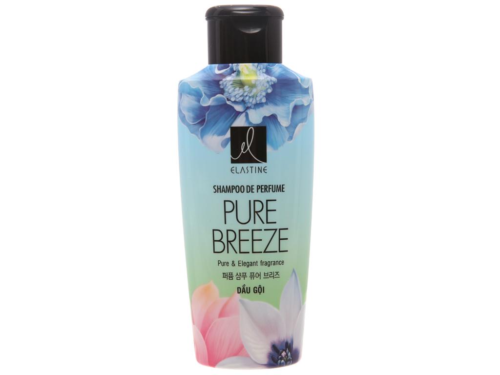 Dầu gội nước hoa Elastine Pure Breeze óng mượt chắc khoẻ 170ml 1