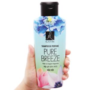 Dầu gội nước hoa Elastine Pure Breeze óng mượt chắc khoẻ 170ml