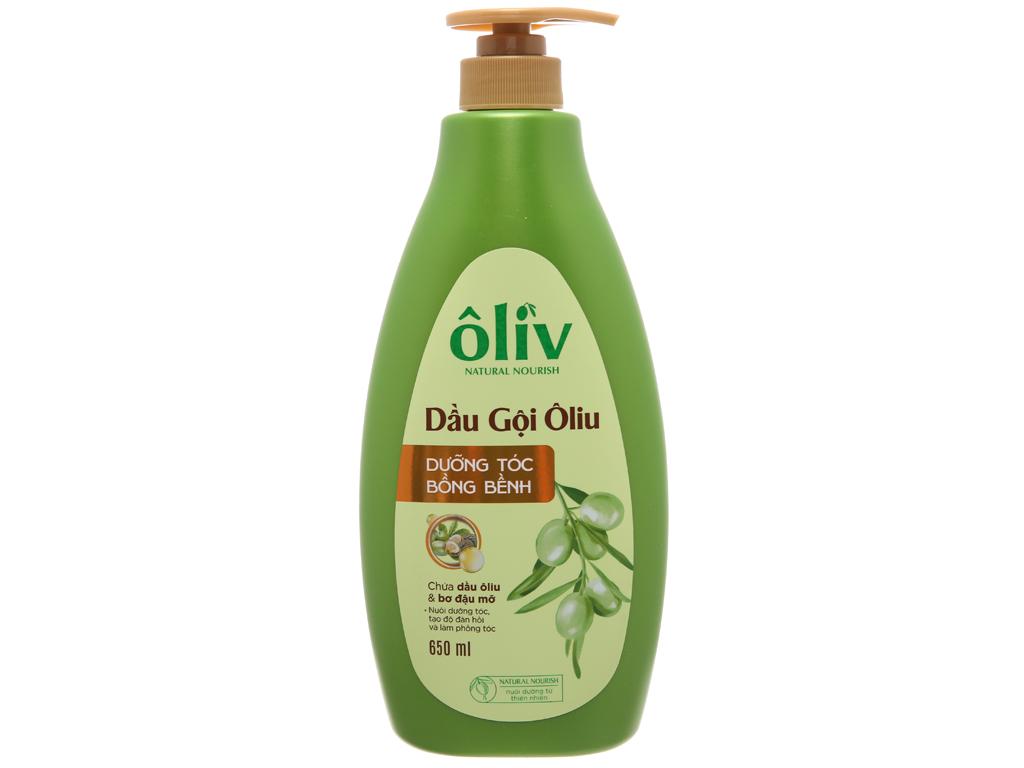 Dầu gội Ôliv dưỡng tóc bồng bềnh dịu nhẹ 650ml 2