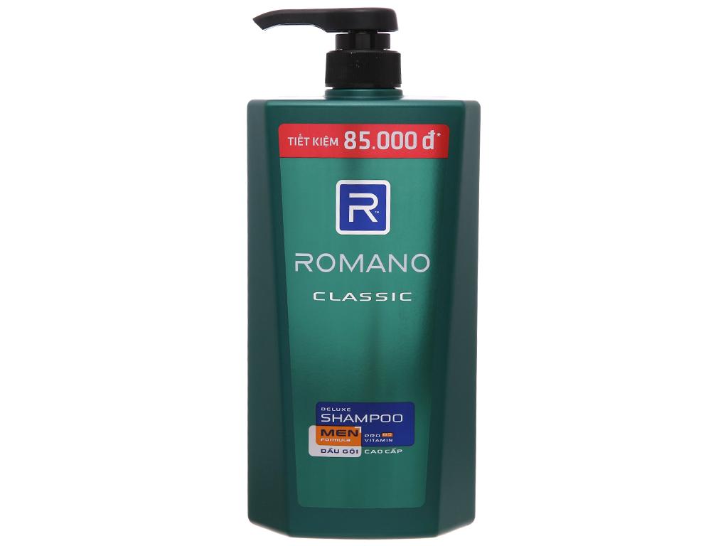 Dầu gội cao cấp Romano Classic 900g 2