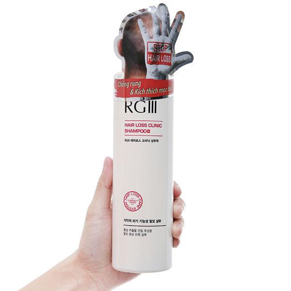 Dầu gội chống rụng tóc RGIII 520ml