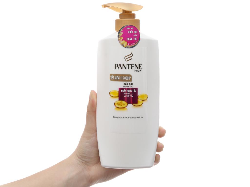 Dầu gội Pantene Pro-V ngăn rụng tóc chai 670g 4
