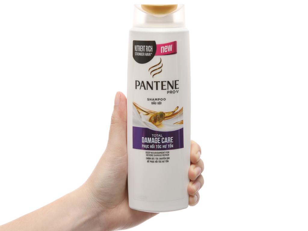 Dầu gội Pantene phục hồi hư tổn bạc hà mát lạnh 300g 4