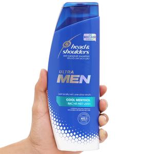 Dầu gội sạch gàu Head & Shoulders Ultra Men bạc hà mát lạnh 315ml