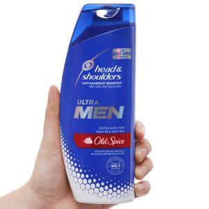 Dầu gội sạch gàu Head & Shoulders Ultra Men Old Spice hương nước hoa 315ml