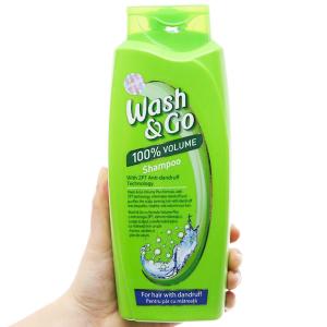 Dầu gội ZPT Technology Wash&Go dành cho tóc gàu 750ml