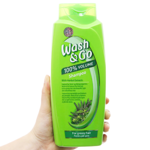 Dầu gội thảo mộc Wash&Go dành cho tóc nhờn 750ml