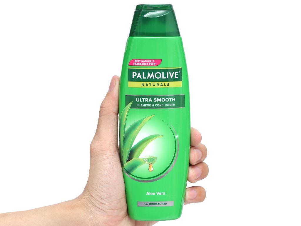 Dầu gội có dầu xả Palmolive chắc khoẻ mượt mà 180ml 10