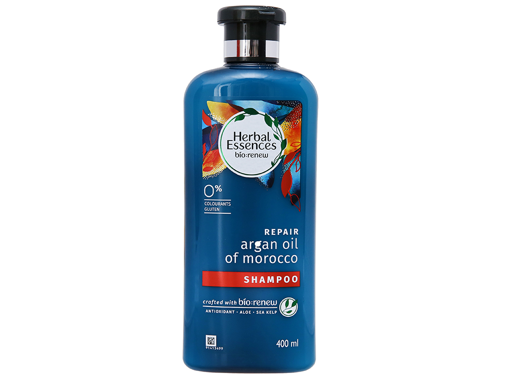 Dầu gội Herbal Essences tinh dầu Moroccan Argan 400ml 2