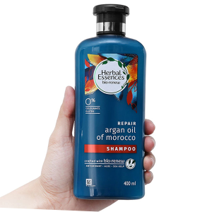 Dầu gội Herbal Essences tinh dầu Moroccan Argan 400ml