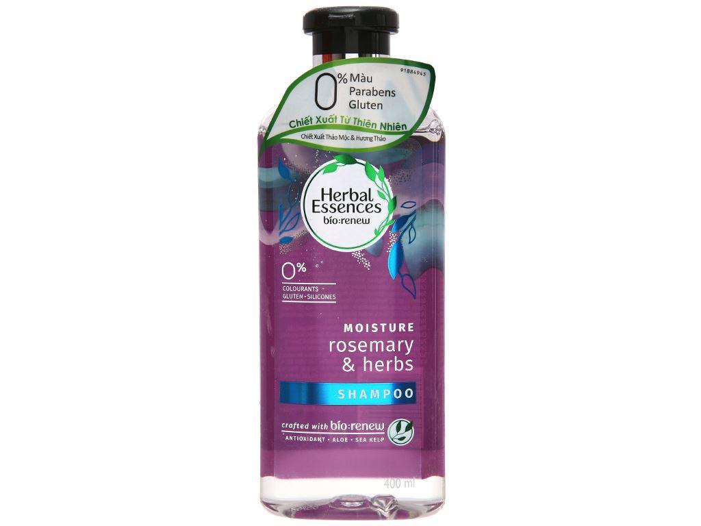 Dầu gội Herbal Essences thảo mộc và hương thảo 400ml 2