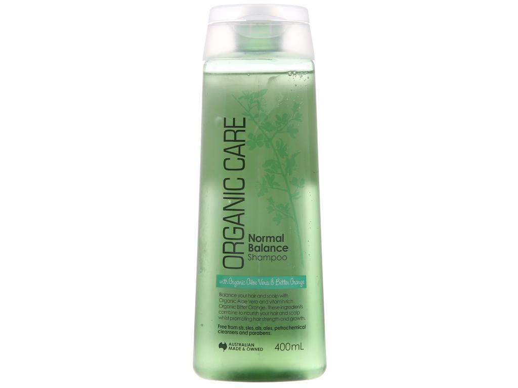 Dầu gội dưỡng tóc bóng mượt Organic Care Normal Balance 400ml 2