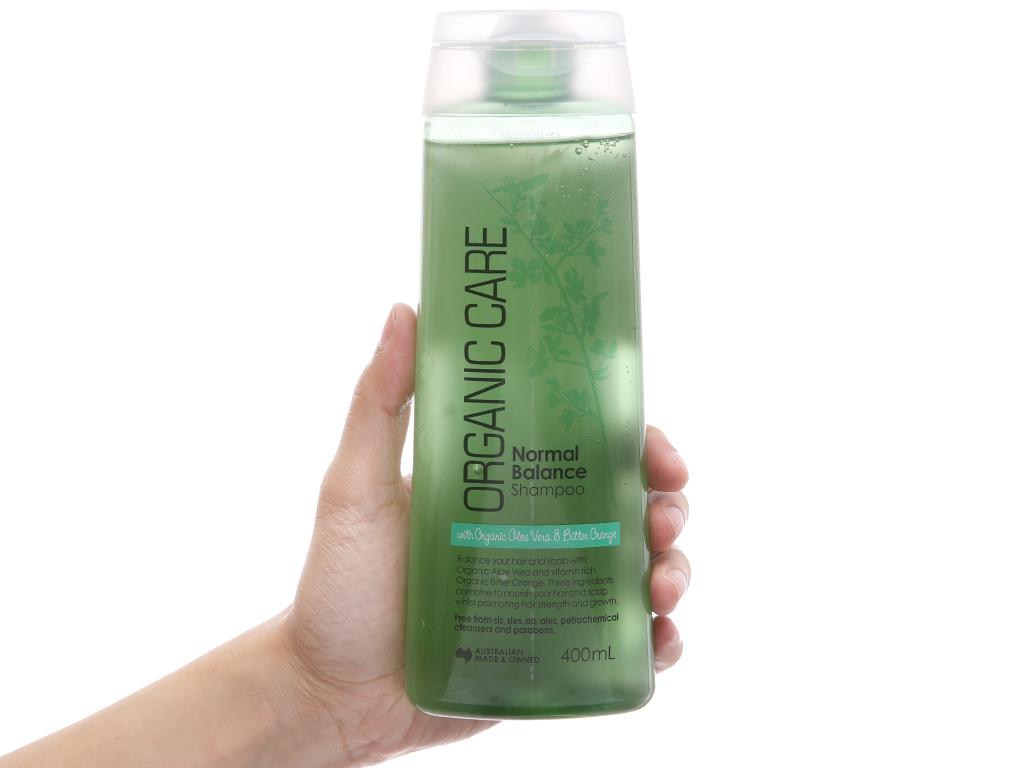 Dầu gội dưỡng tóc bóng mượt Organic Care Normal Balance 400ml 4