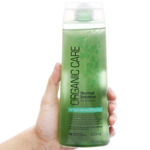 Dầu gội dưỡng tóc bóng mượt Organic Care Normal Balance 400ml