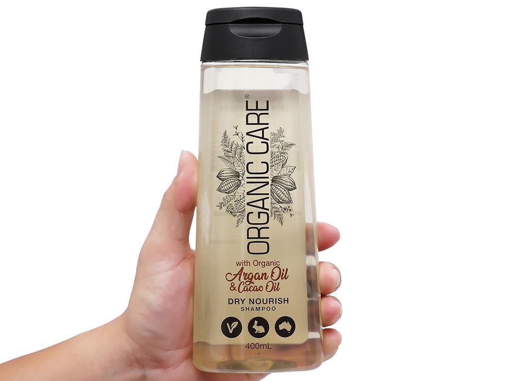 Dầu gội phục hồi hư tổn Organic Care Dry Nourish 400ml 5