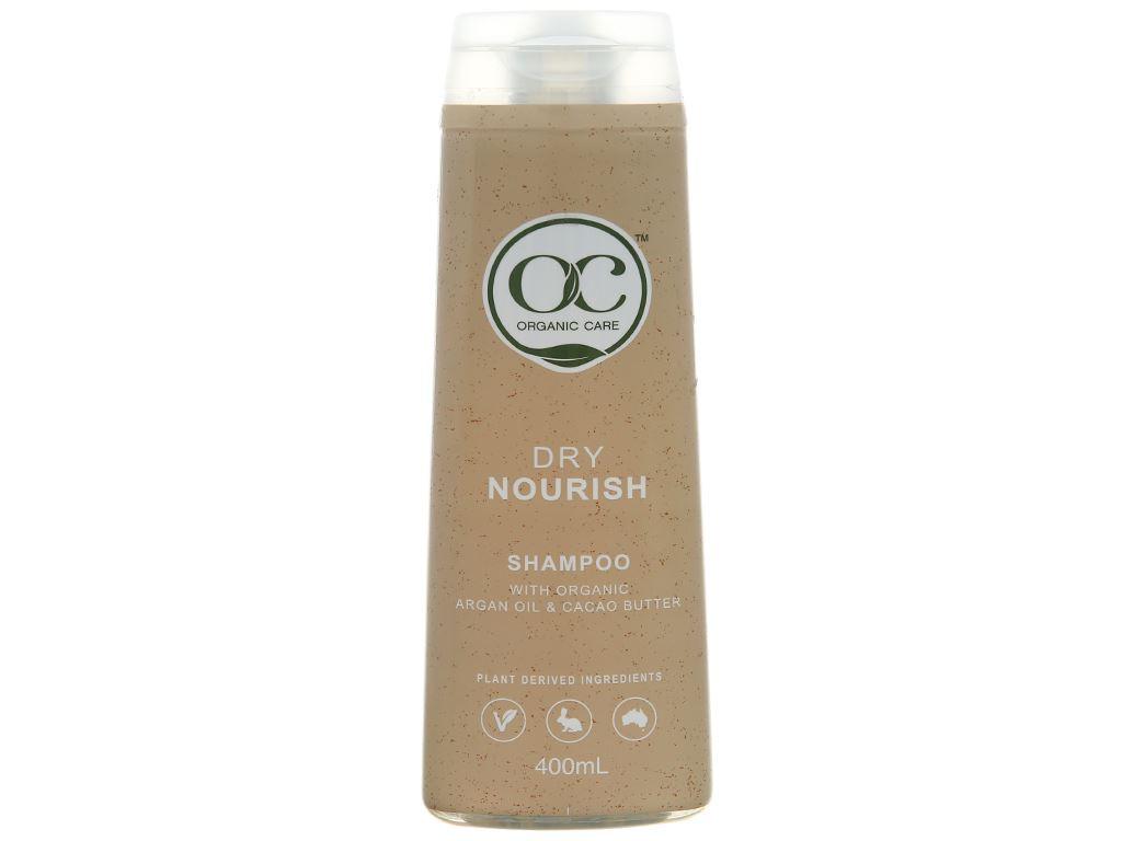 Dầu gội phục hồi hư tổn Organic Care Dry Nourish 400ml 1
