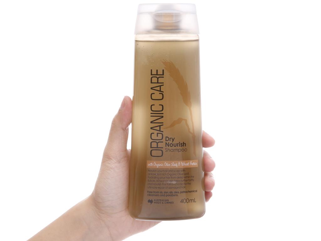 Dầu gội Organic Care Dry Nourish phục hồi hư tổn 400ml 4