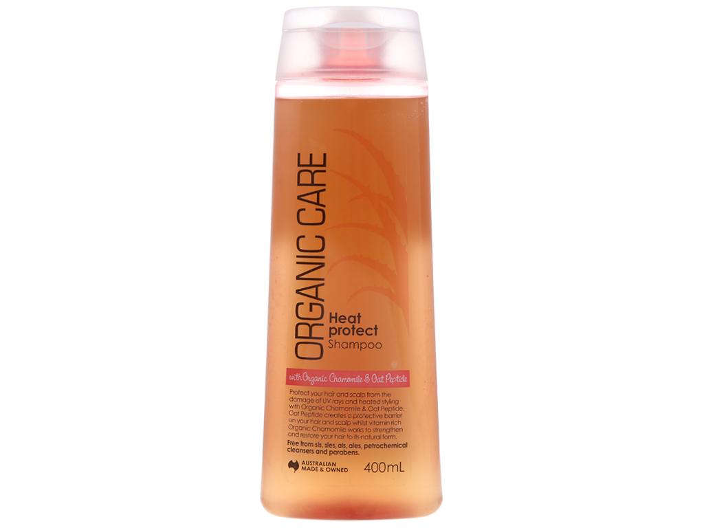 Dầu gội Organic Care ngăn ngừa tóc hư tổn và gãy rụng 400ml 2