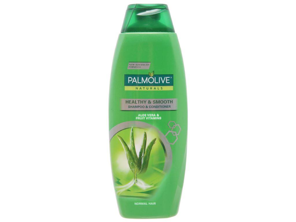 Dầu gội có dầu xả Palmolive chắc khoẻ mượt mà 350ml 1