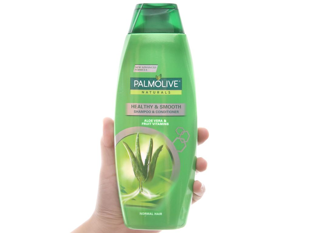 Dầu gội có dầu xả Palmolive chắc khoẻ mượt mà 350ml 3